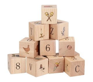 Wooden blocks - Multi - Konges Sløjd
