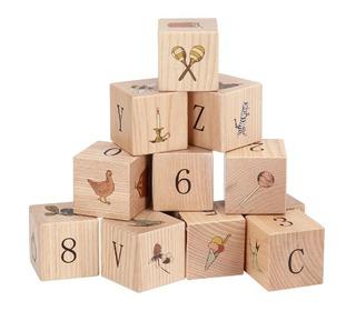 Wooden blocks - Multi - Konges Sløjd