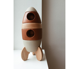 Stacking Rocket - Konges Sløjd