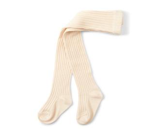 Rib stockings - cream - Konges Sløjd