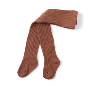 Rib stockings - choco bean - Konges Sløjd