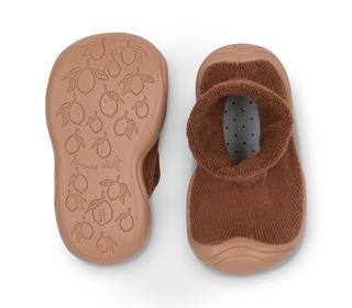 Sock Slippers - almond - Konges Sløjd