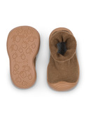 Sock Slippers - walnut