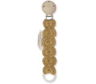 Pacifier strap wool - Acacia - Konges Sløjd
