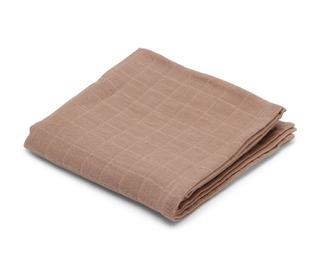 1 pcs muslin cloth - Rose - Konges Sløjd