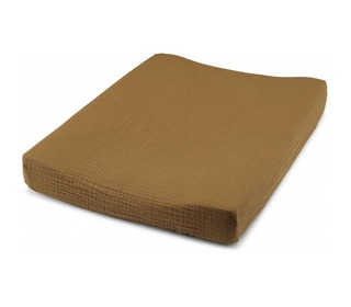Fitted sheet for changing cushion - Dark honey - Konges Sløjd