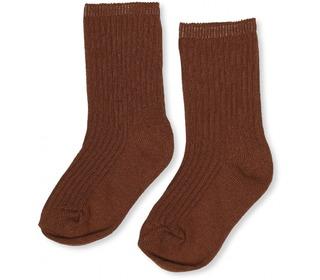 Hisao sock rib - Caramel - Konges Sløjd