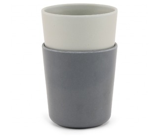 2 pack cup - French grey/midnight - Konges Sløjd