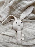 Activity hand rabbit - off white melange