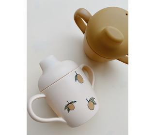 2 Pack sippy cup - lemon - Konges Sløjd