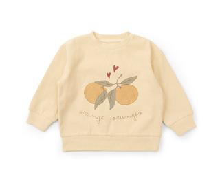 Lou sweatshirt - apricot - Konges Sløjd