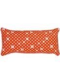 kussen oranje polka dots | Lalé