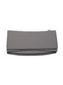 Cot Bumper - dark grey