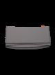 Cot Bumper - dark grey