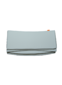 Cot Bumper - misty blue