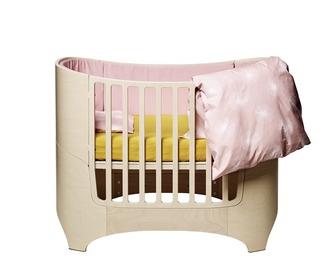 Baby- en Juniorbed 0-7 j. - whitewash - Leander