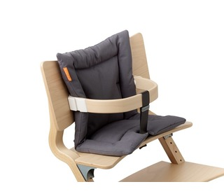 kussen voor Leander stoel - dark grey - Leander
