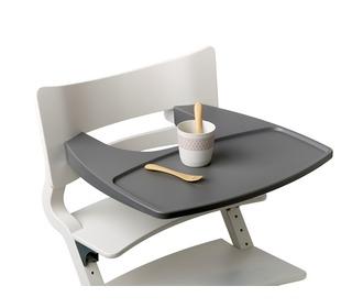 eetblad/speeltafel voor Leander stoel - grijs - Leander