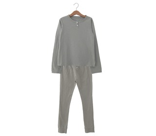 Combi t-shirt & trousers Polly brume - Le Petit Germain