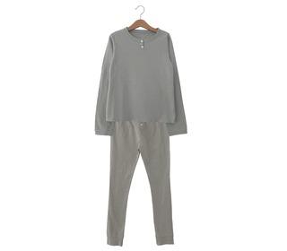 Combi t-shirt & trousers Polly brume - Le Petit Germain