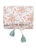 changing mat olayde - cream french flowers