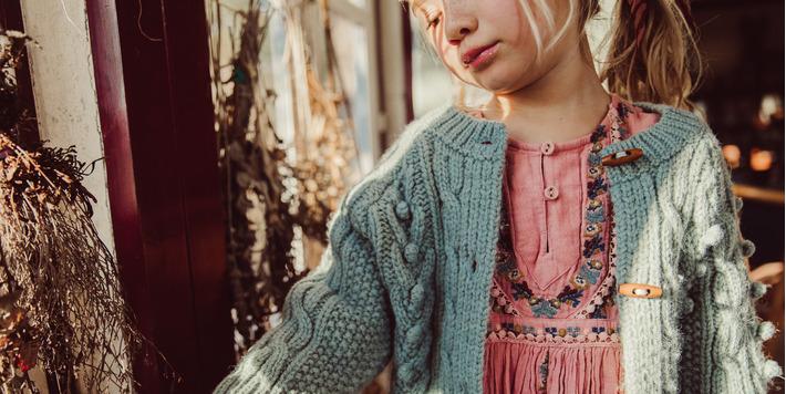 Louise Misha Autumn - Winter '21 • Cardigan Simone