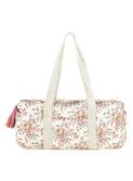 24hours bag Vaeva - cream french flowers