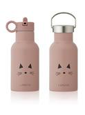 Anker water bottle - cat rose