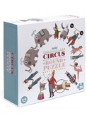 Circus round puzzel