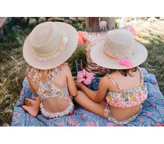 Bikini Caribbean Multi Flowers │Louise Misha
