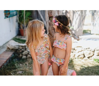 Bikini Caribbean Multi Flowers - Louise Misha