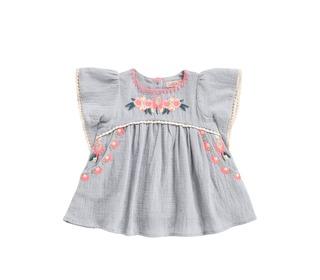Dress Vanilla Silver Cloud│Louise Misha