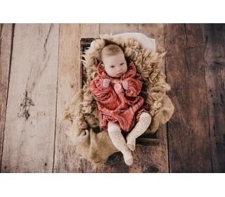 Socks Olenka Cream - Louise Misha