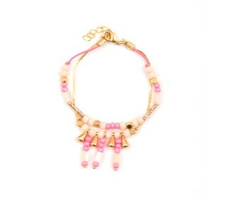 bracelet sieraad Inka Pink | Louise Misha