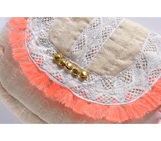 Bag Glitter Gold│Louise Misha