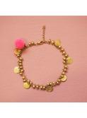 Bracelet - Ankle Padma Pink Fluo