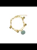 Bracelet Kamil Silver Blue