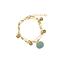 Bracelet Kamil Silver Blue - Louise Misha