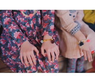 Bracelet Kitoum Burgundy - Louise Misha