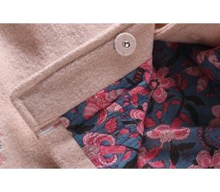 Coat Maya Nude - Louise Misha