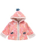 Jacket Palto coral flower │Louise Misha