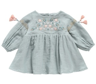 Dress Rozalia Silver Cloud - Louise Misha
