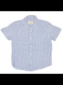 woven shirt Jam blue