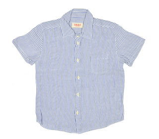 woven shirt Jam blue - Maankids