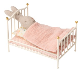 Vintage bed, Mouse - offwhite - Maileg