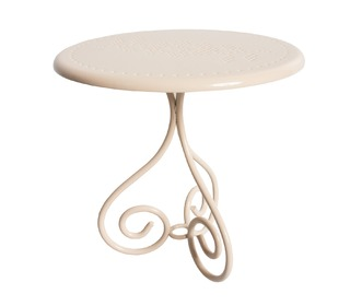 Coffe table, mini, powder - Maileg