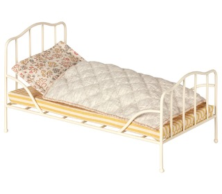Vintage bed, Mini - Off white - Maileg