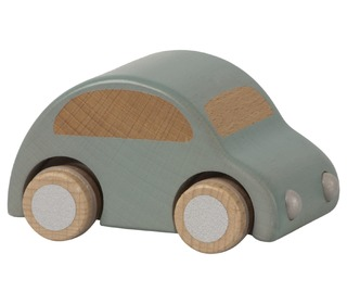 Wooden car - Light blue - Maileg