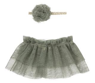 Tutu & hairband for mini - Petrol - Maileg