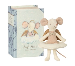 Angel mouse, Big sister in book - Maileg